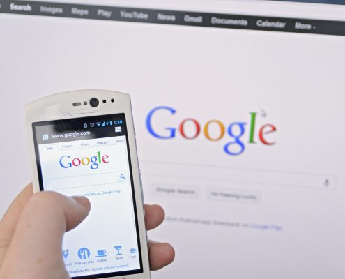 Googles First Mobile index