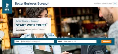 Better Business Bureau for SEO